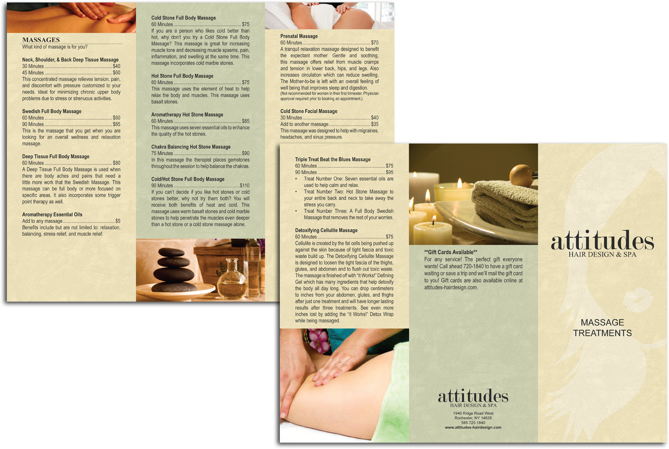 Spa Brochure S Pictures to Pin PinsDaddy – Massage Brochure
